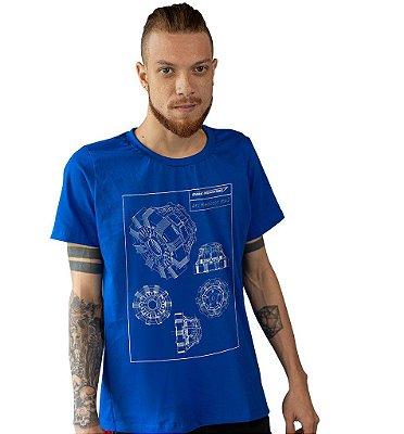 Camiseta Homem de Ferro - Esquema do Reator Arc