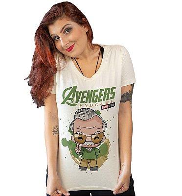 Camiseta Vingadores Stan Lee