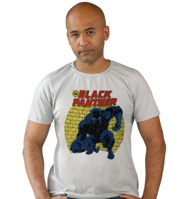 Camiseta Pantera Negra Retrô