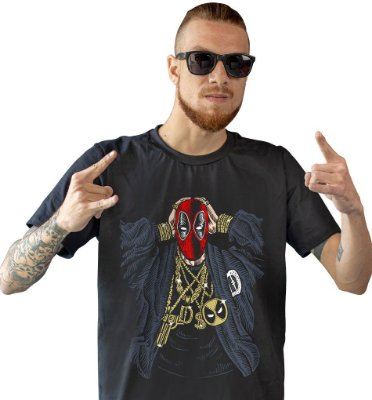 Camiseta Gangsta DeadPool