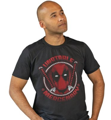 Camiseta Deadpool - Unstable Mercenary