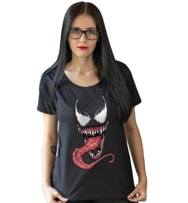 Camiseta A Máscara do Venom