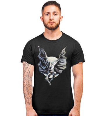 Camiseta Batman À Luz do Luar