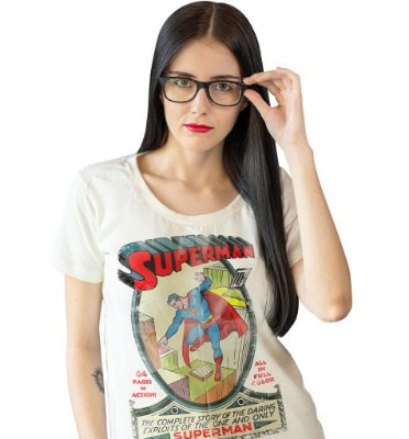 Camiseta Superman #1