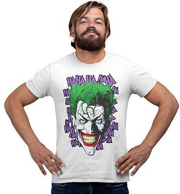 Camiseta Coringa - HA HA HA HA HA