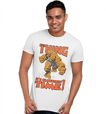 Camiseta Quarteto Fantástico - Coisa