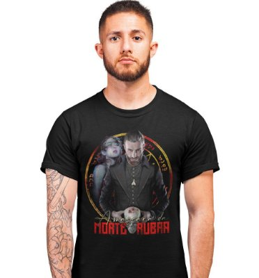 Camiseta BeholderTV - A Máscara da Morte Rubra