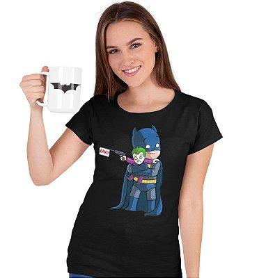 Camiseta Batman & Coringa