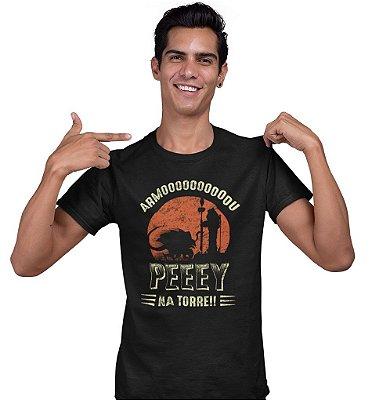 Camiseta Gruntar TV - PEEEY Na Torre!!