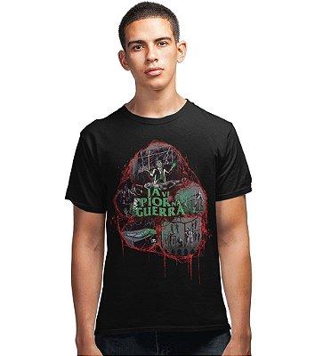 Camiseta Crônicas da Meia Noite - Já Vi Pior Na Guerra