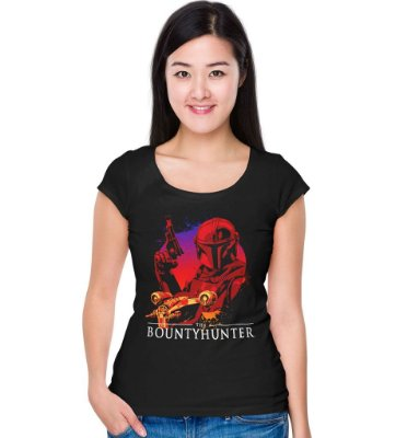 Camiseta Star Wars - Bounty Hunter