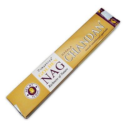 Incenso Golden Nag Sândalo - Vijayshree