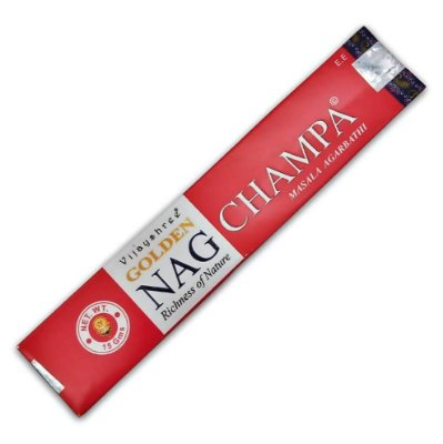 Incenso Golden Nag Champa - Vijayshree