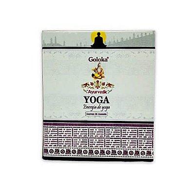 Incenso Cone Yoga - Goloka