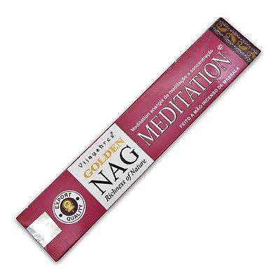 Incenso Golden Nag Meditation