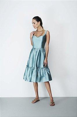 Vestido Tafeta