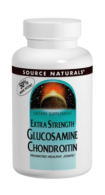 Glucosamine Chondroitin c/MSM - Source Naturals - 60 tablets