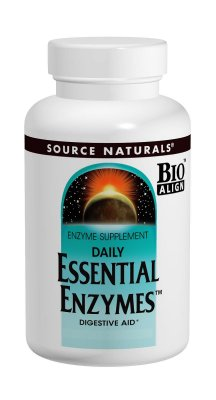 ESSENTIAL ENZYMES, DAILY - Enzimas Digestivas - 60 Cápsulas - Source Naturals