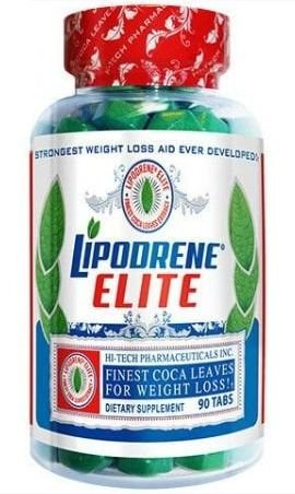Lipodrene Elite Finest Coca Leaves 90 Comprimidos - Hi-Tech Pharmaceuticals