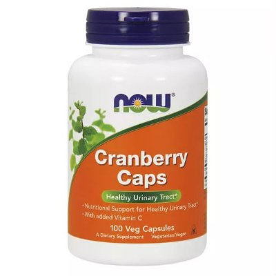 Cranberry com Vitamina C - 100 Cápsulas - Now Foods