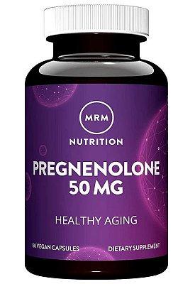 Pregnenolona 50mg - 60 Cápsulas Micronizadas - MRM Nutrition