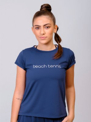 Blusa Dry Com Racho Beach Tennis MARINHO