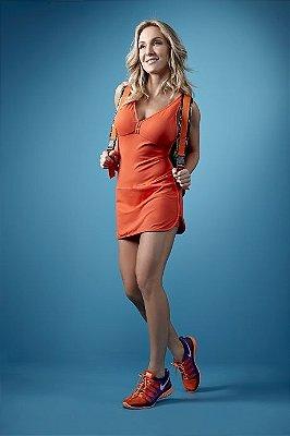 Vestido Fitness Transpassado Alto Giro