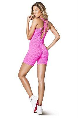 Macaquinho Agility Pink Neon Vestem