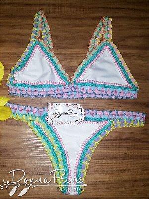 Biquíni Angel Candy Crochet Donna Prime