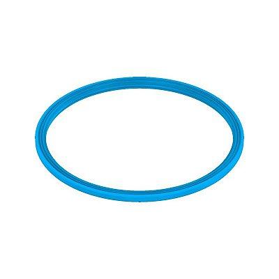 """Vedação tipo """"U"""" Silicone, Linha Azul"""