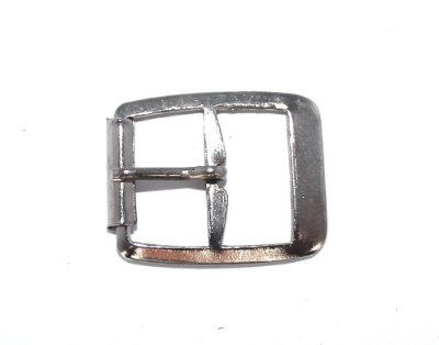Fivelinha Pequena com Rolete - Niquelada - 16mm
