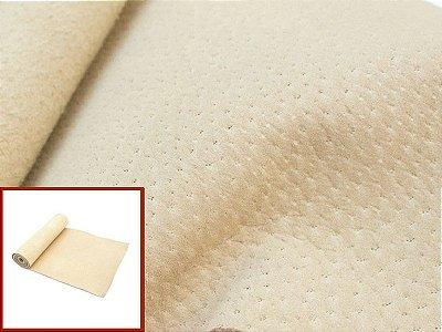 Rolos de Camurcinha Suína - Cor: Bege - 0.4/0.6 mm