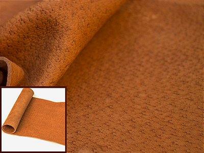 Rolos de Vaqueta Suína Natural - Cor: Ferrugem - 1.4/1.6 mm