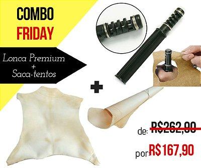 Combo Friday!! Lonca de Cabrito Premium + Saca-tentos Ajustável