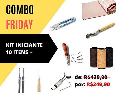 Combo Friday!! Kit Iniciante + Couro Atanado 1.5mm 30cmx60cm