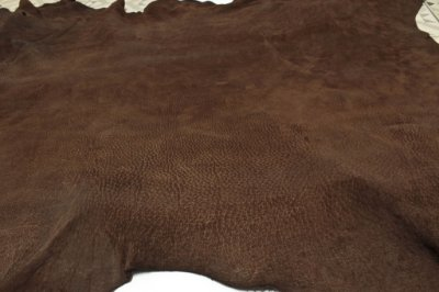 Nobuck de Porco tipo Javali - Cor: Castor - 1.2/1.6 mm
