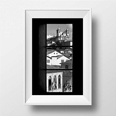 Fotografias individuais - Título: Ouro Preto pela janela