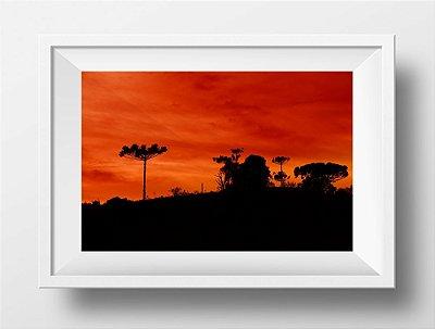 Fotografias individuais - Título: Serra, céu e cor
