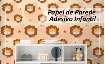 Papel de Parede Adesivo Safari Infantil