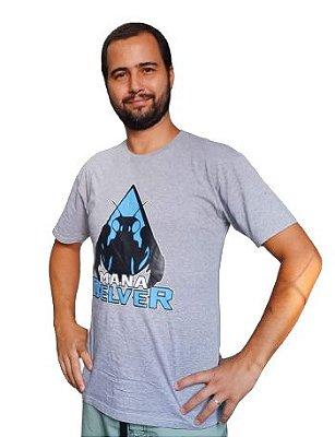Camisa Silk Mana Delver Cinza