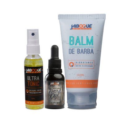 1 Ultra Tonic (Tônico Capilar) +  1 Beard Oil (Óleo Para Barba) + 1 Balm para Barba