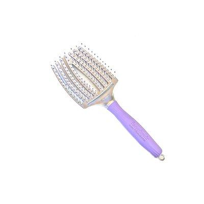 Escova de Cabelo Profissional Olivia Garden Finger Brush Grande