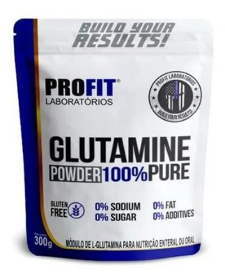 Glutamine Powder Refil - 300g - Profit