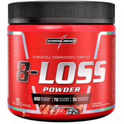 8-Loss Powder - 200g - Integral Médica