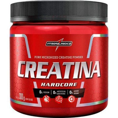 Creatina Hardcore - 300g- Integralmédica