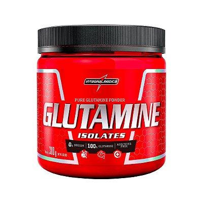 Glutamine Isolates - 300g - Integralmédica