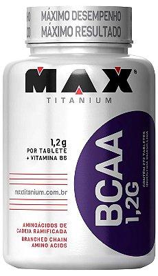 BCAA 1,2G c/ Vitamina B6 - 120 tabs - Max Titanium