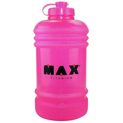 Galão de Água Rosa - 2,2L - Max Titanium