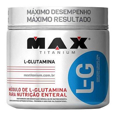 Glutamine LG - 300 g - Max Titanium