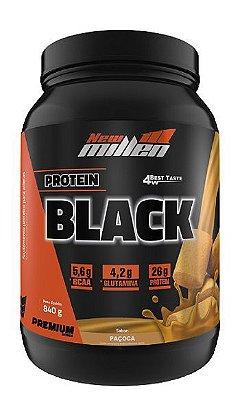 Protein Black + Copo Grátis - 840g - New Millen